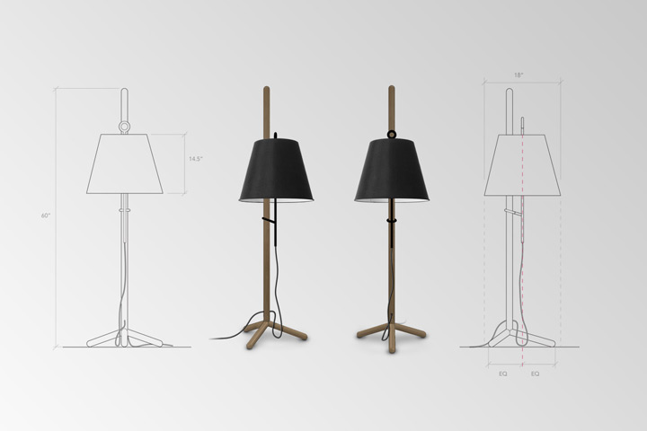 Cantilever Floor Lamp 2