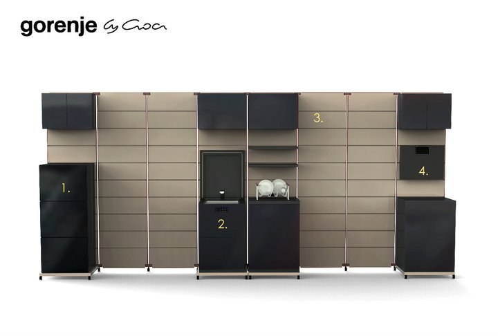 Gorenje Modular Kitchen Design 2