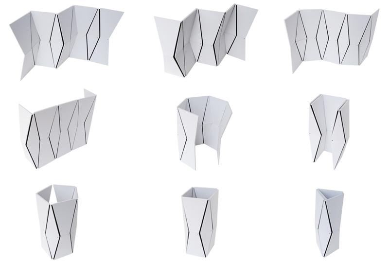 Just Fold It Room Divider 6