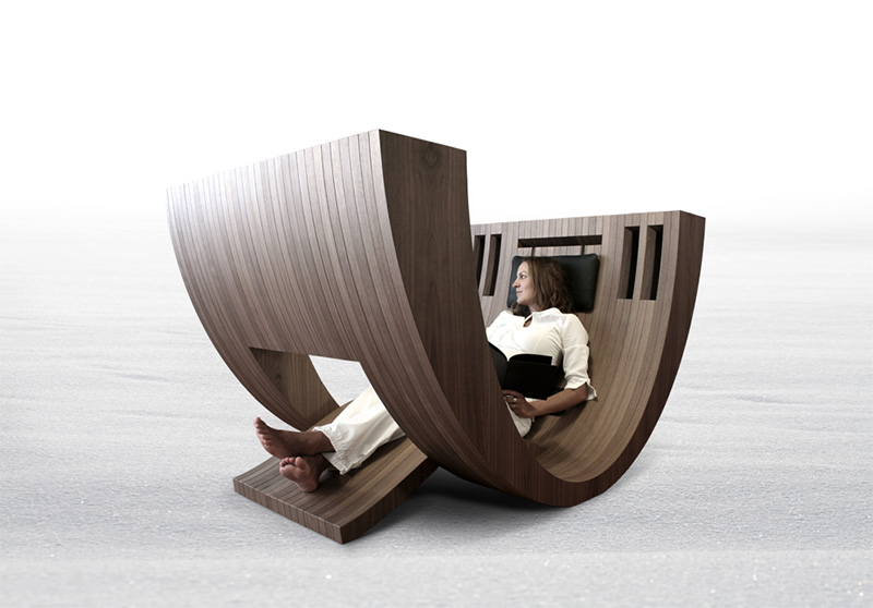Kosha Reading Chair By Claudio D Amore