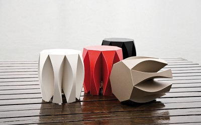 Nook Stool & Bench by Patrick Frey for Vial