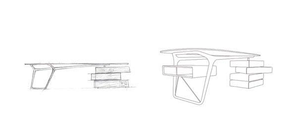 Omaggio Writing Desk 3