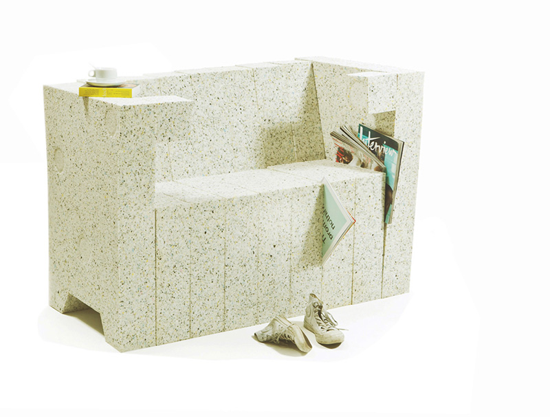 Recycling Chair-Sofa system 1