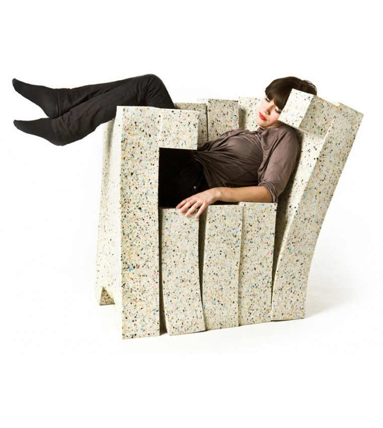 Recycling Chair-Sofa system 2