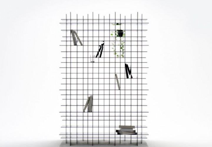 Scatter Storage Shelf by Nendo 1