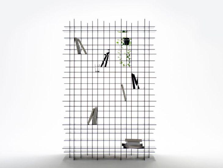 Scatter Storage Shelf by Nendo 1