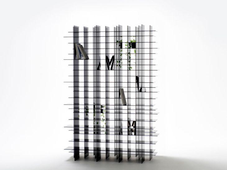 Scatter Storage Shelf by Nendo 3