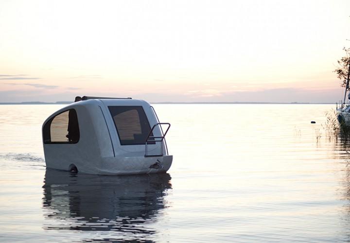 Sealander Amphibious Caravan 1