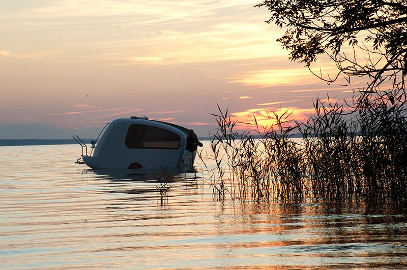 Sealander Amphibious Caravan 2