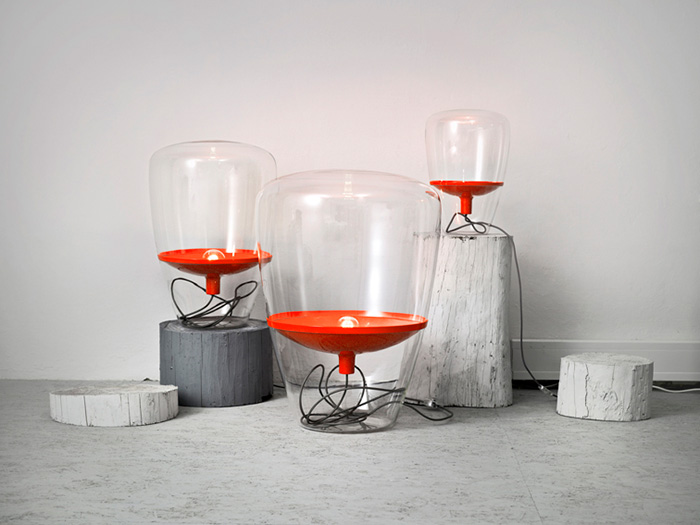 Balloons Lamp Collection by Dan Yeffet and Lucie Koldova