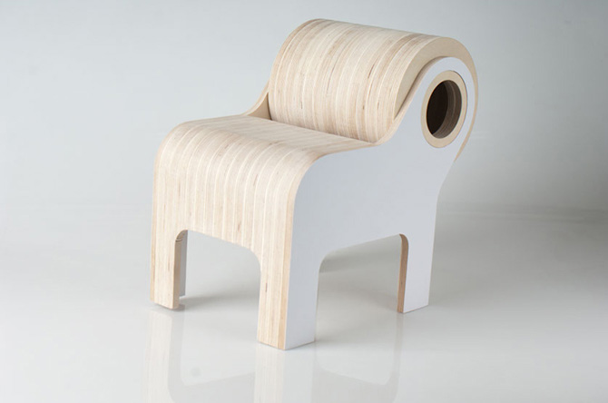 Bull Children Furniture by Ander Lizaso
