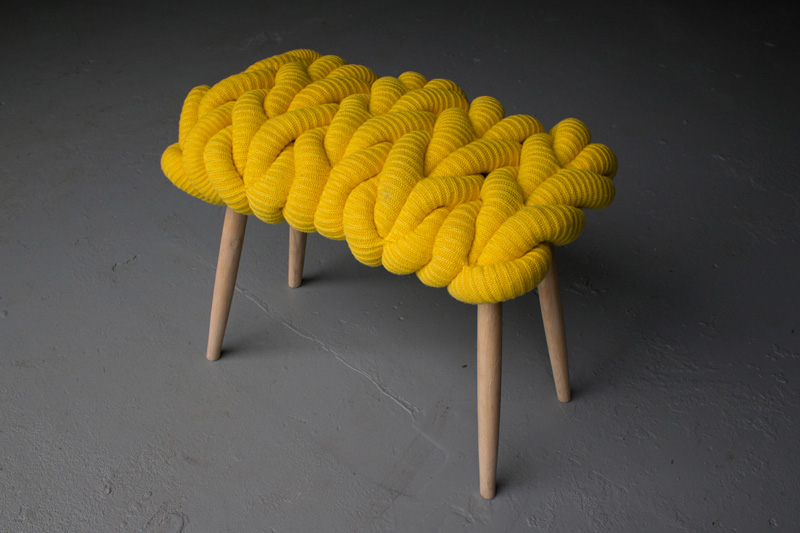 Knit Stool collection 2