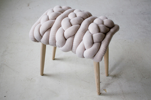 Knit Stool collection 5