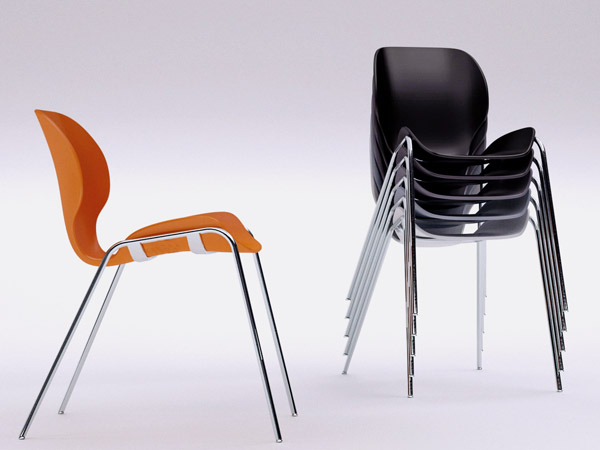 Lata stacking chair 1