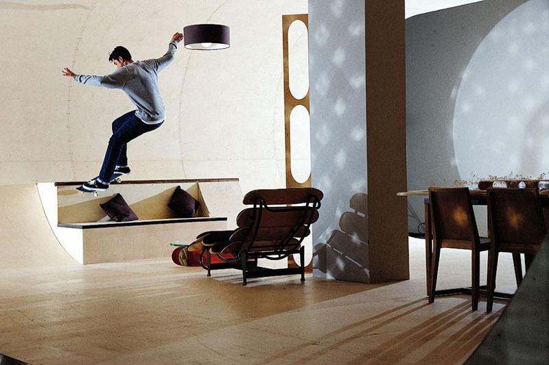PAS Skateboard House 3
