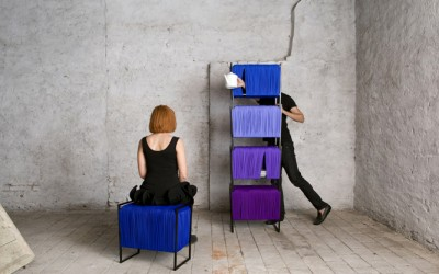 Fragmented 01 & 02 – Stackable Storage and Seating Modules