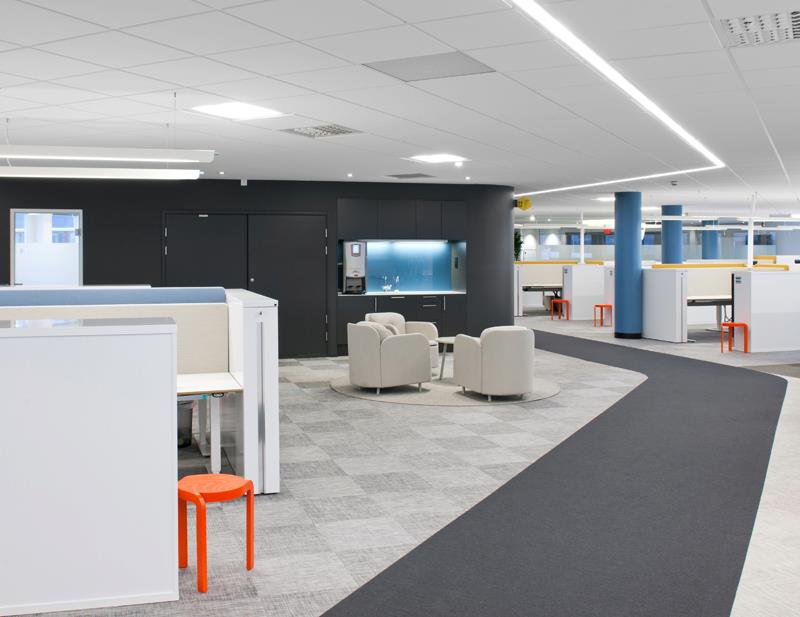 Interiors of ATG IT department 3