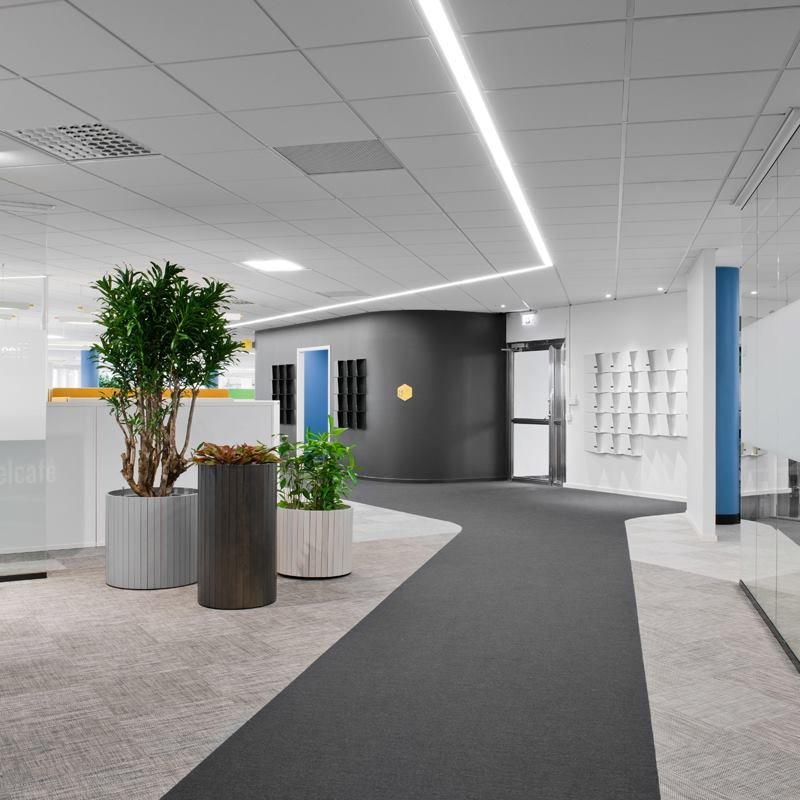 Interiors of ATG IT department 4