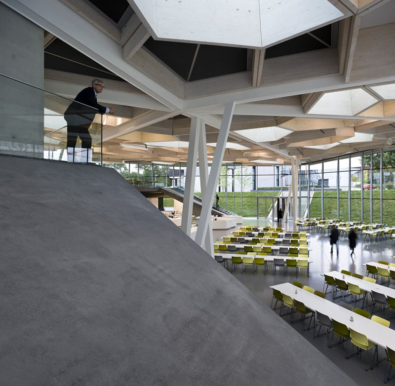 Campus Restaurant with Auditorium 8