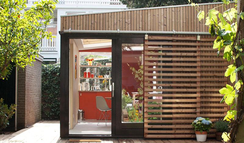 garden studio in Voorburg 2