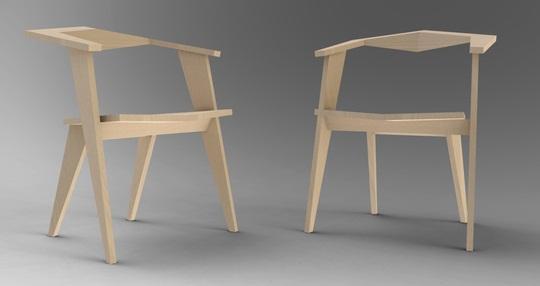 Katto light wooden Chair 2