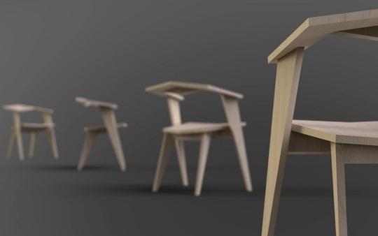 Katto light wooden Chair 3