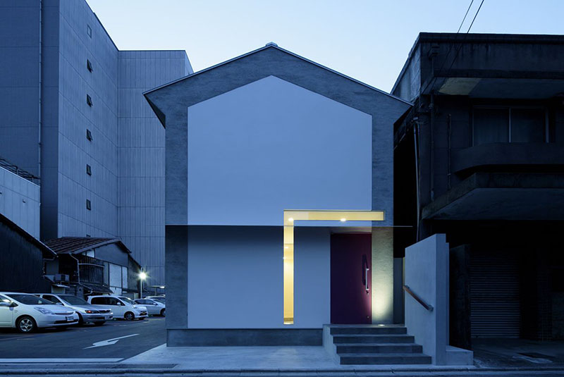 Keyhole House in Kyoto, Japan 1