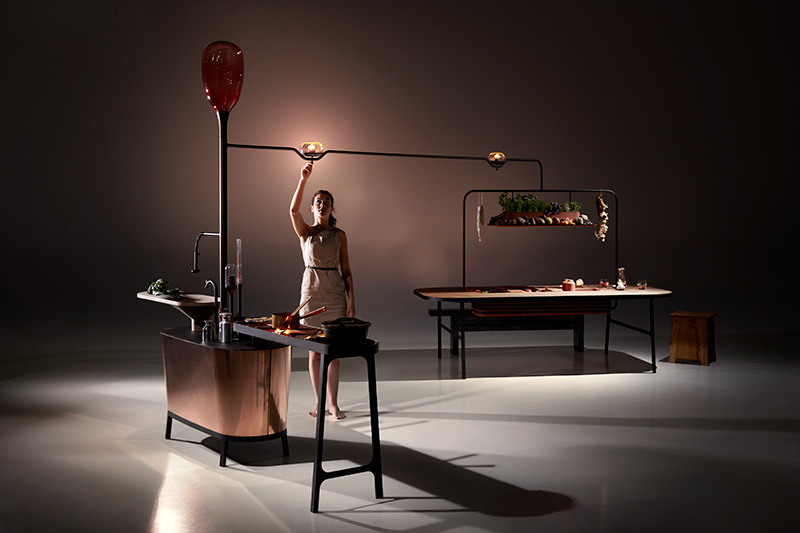 Microbial Home Probe Concept by Philips Design