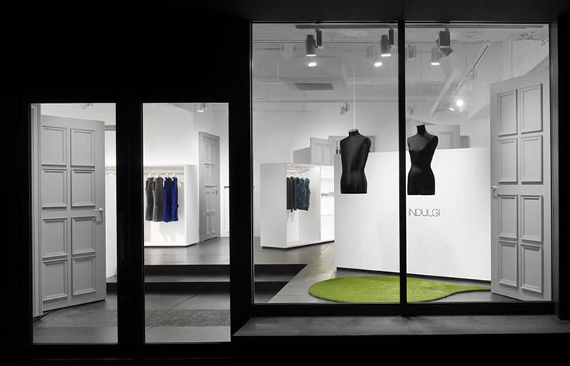 Indulgi clothing shop interiors 3
