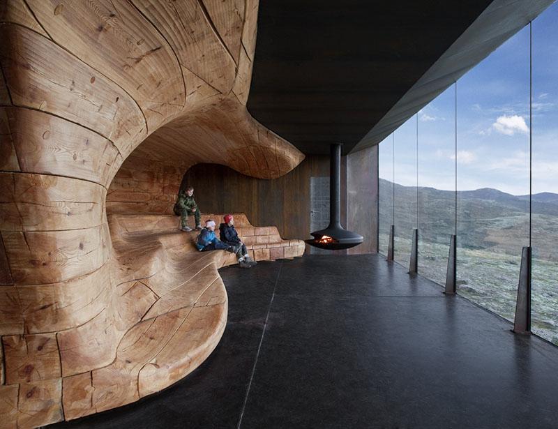 Norwegian Wild Reindeer Centre Pavilion 4