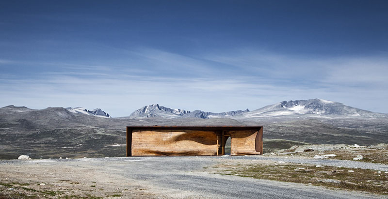 Norwegian Wild Reindeer Centre Pavilion 6