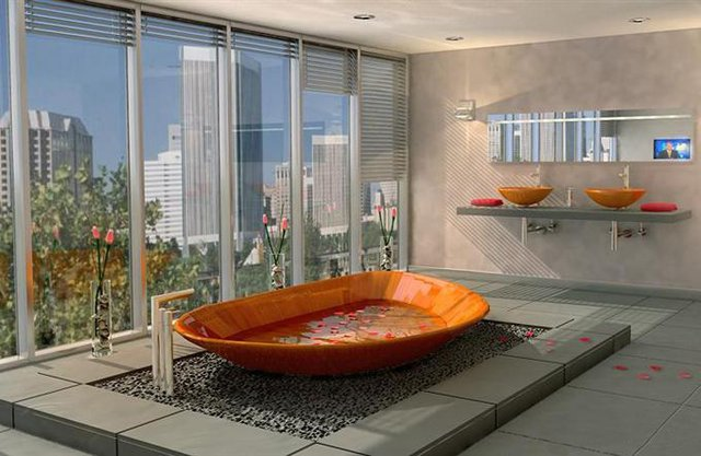 Ocean Shell bathtub 2