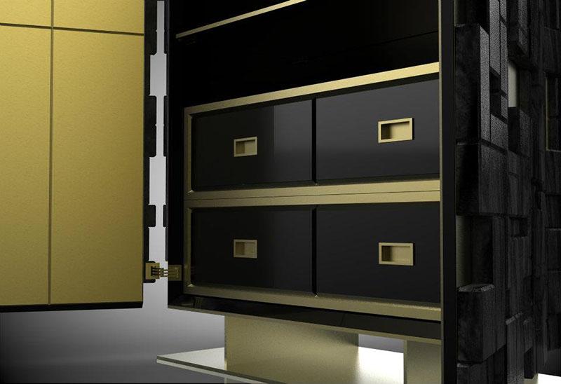 Relevo Storage Cabinet 6