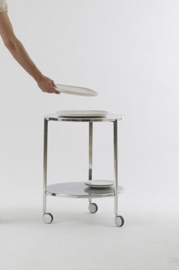 Tambour side table collection 2
