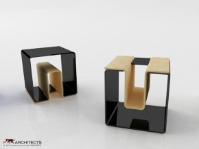 UN Stool by Vladimir Paripovic