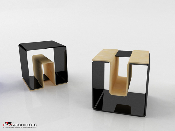 UN eco-friendly multifunctional Stool 1