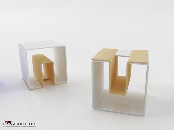 UN eco-friendly multifunctional Stool 6