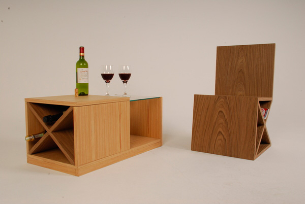 Bordeaux Multipurpose Coffee Table by Klaus Westphalen