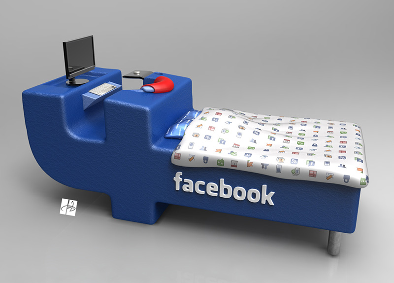 FBed concept Facebook Bed 3