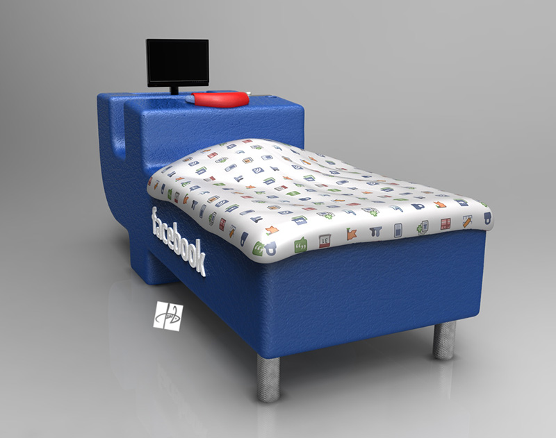 FBed concept Facebook Bed 4