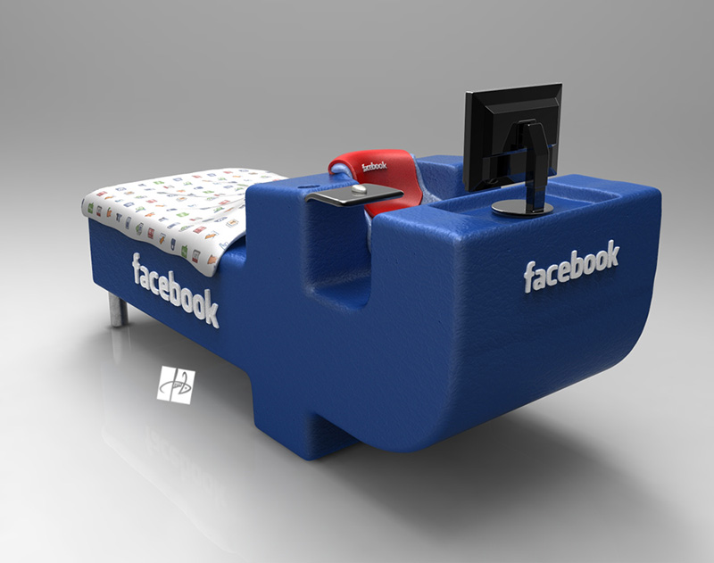 FBed concept Facebook Bed 6