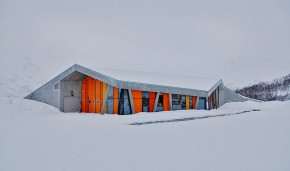 Gullesfjord Weight Control Station by Jarmund/Vigsnæs