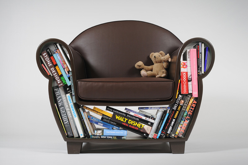 Hollow Chair with Storage Space 2