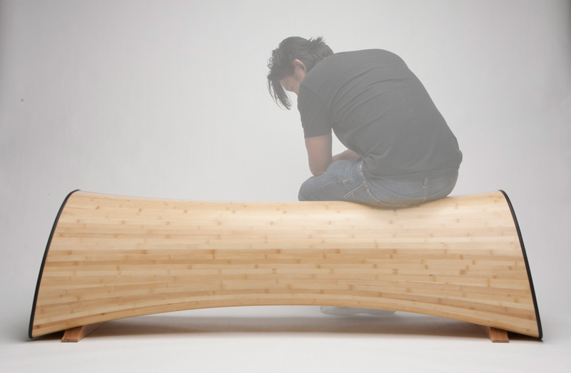 Infinity bamboo Bench 3