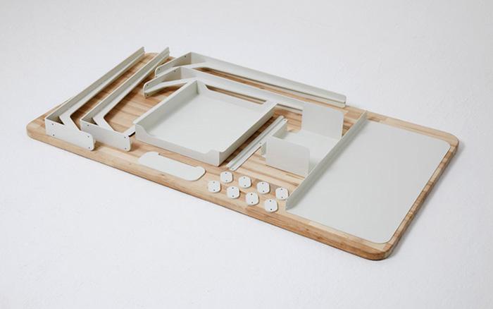 Mantis modular work desk 7