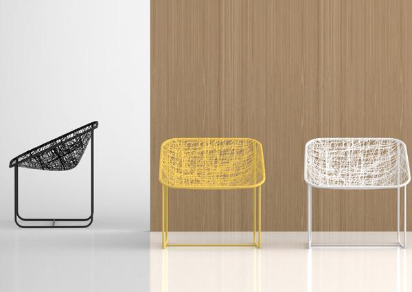 Silk Chair by Javier Moreno 1
