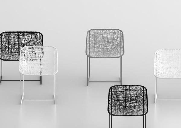 Silk Chair by Javier Moreno 3