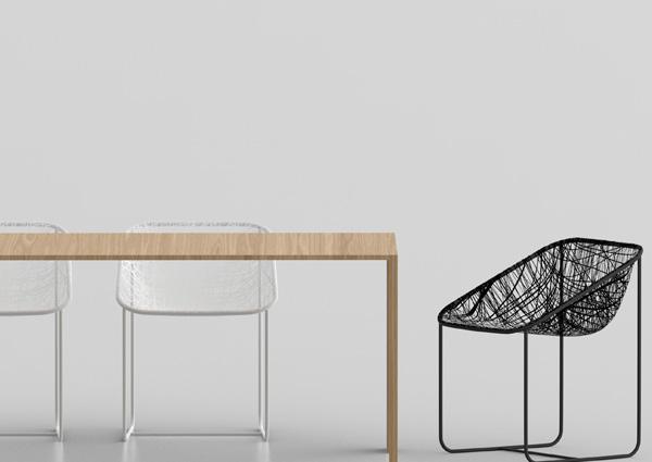 Silk Chair by Javier Moreno 4
