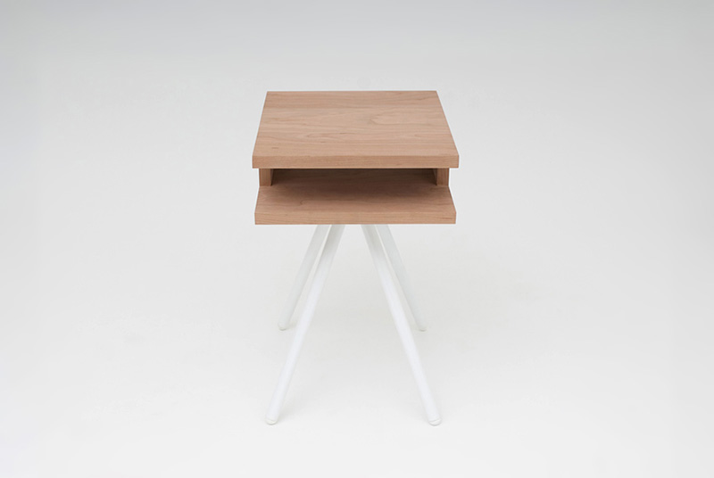 Steel Wood Table 2