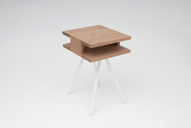 Steel Wood Table 3